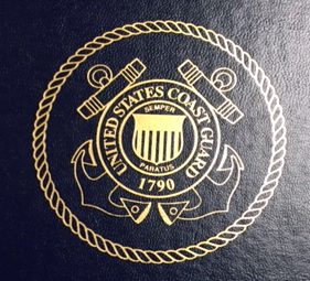 US Coast Guard Seal on Certificate of Appreciation