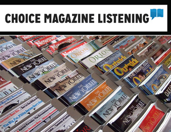 Choice Magazine Listening logo